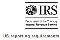 IRS US reporting requirements